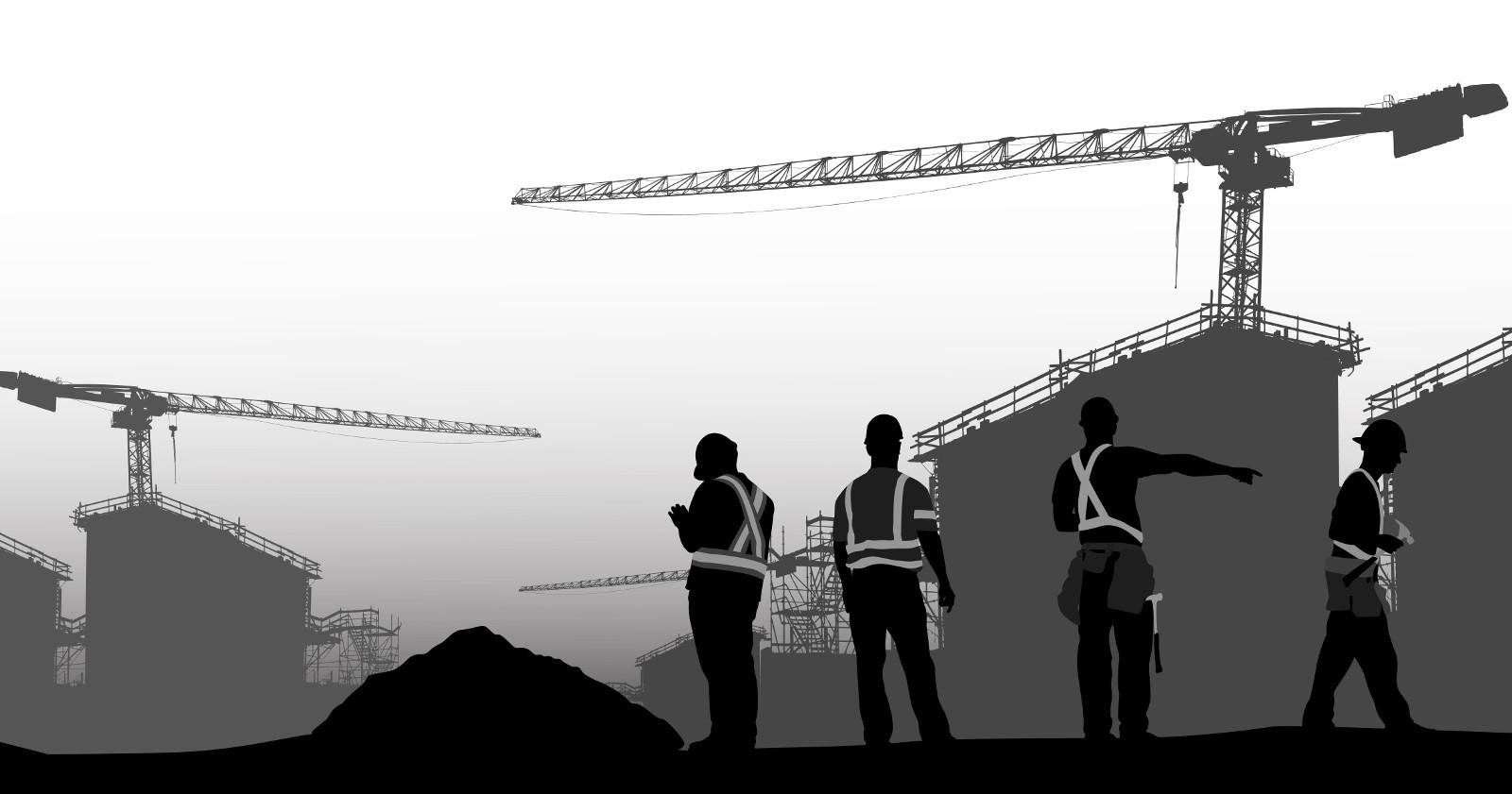 Winterbauheizung für Baustellen und Bautrocknung